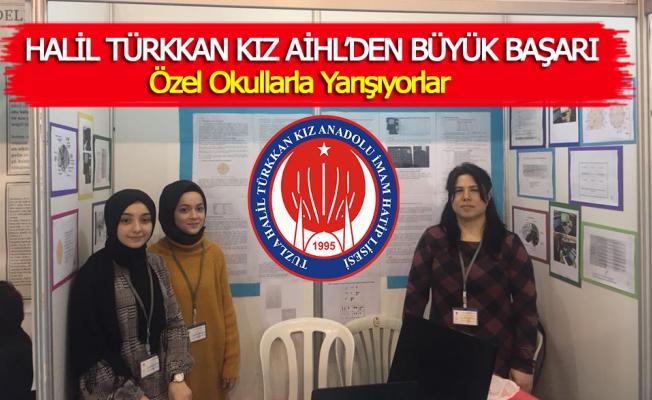Halil Türkkan Kız AİHL'den Büyük Başarı