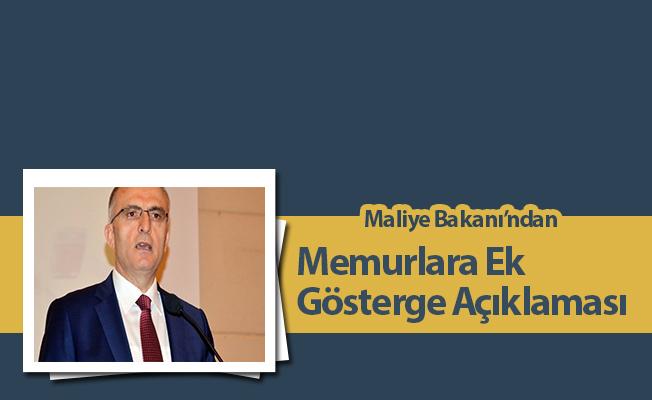 Maliye Bakanı'ndan Memurlara Ek Gösterge Açıklaması