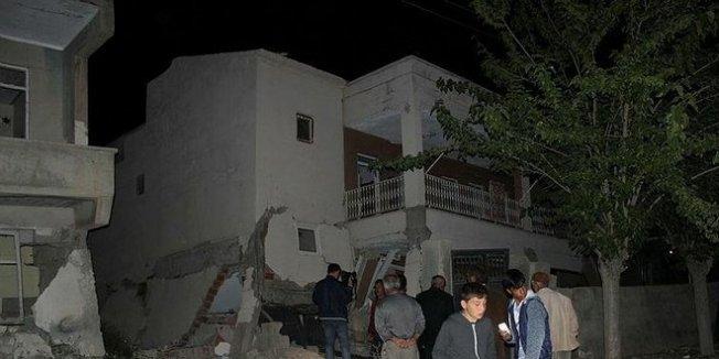 Adıyaman'da yaşanan deprem korkuttu