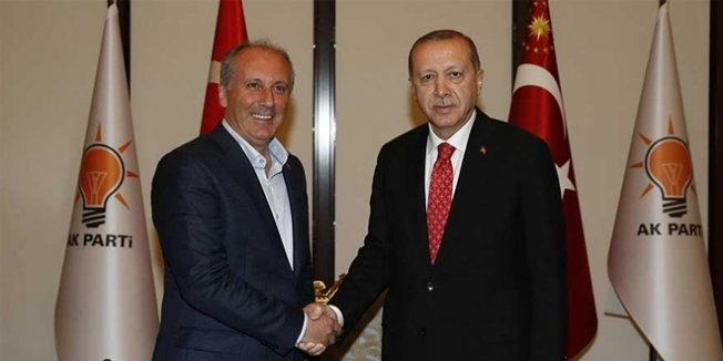 İnce, Erdoğan'la olan görüşmesini ilk kez anlattı