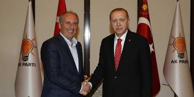 İnce, Erdoğan'la olan görüşmesini ilk kez anlattı