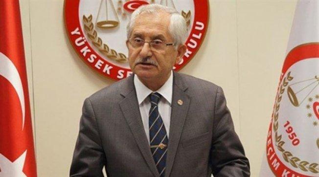 YSK Başkanı'ndan Suruç açıklaması