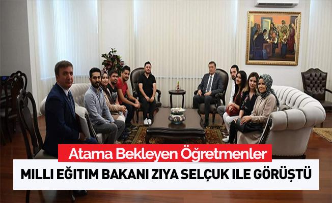 Atama Bekleyen Öğretmenler Bakan Selçuk ile Görüştü
