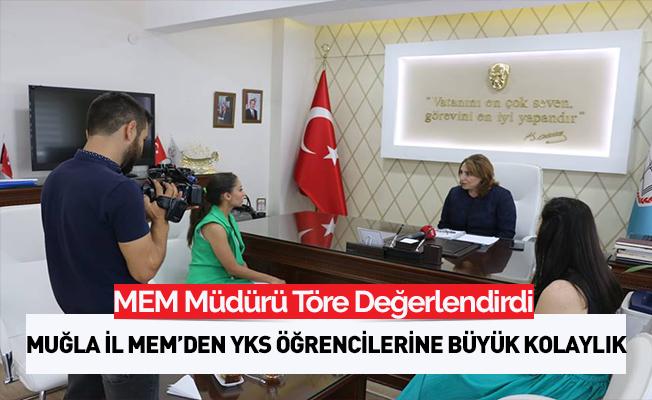 Muğla İl MEM Müdürü Pervin Töre TV Kanalında YKS Sürecini Değerlendirdi