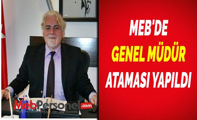 MEB Mesleki ve Teknik Eğitim Genel Müdürlüğüne Prof. Dr. Kemal Varım Numanoğlu atandı