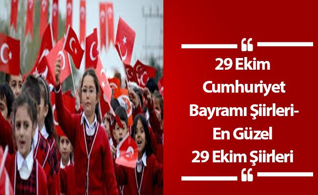 29 Ekim Şiirleri- Cumhuriyet Bayramı