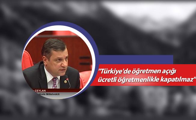 """""""Türkiye'de öğretmen açığı ücretli öğretmenlikle kapatılmaz""""-Öğretmen Atamaları"""