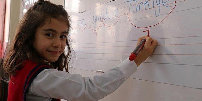 Elazığlı öğrencinin 'Türkiye' hassasiyeti