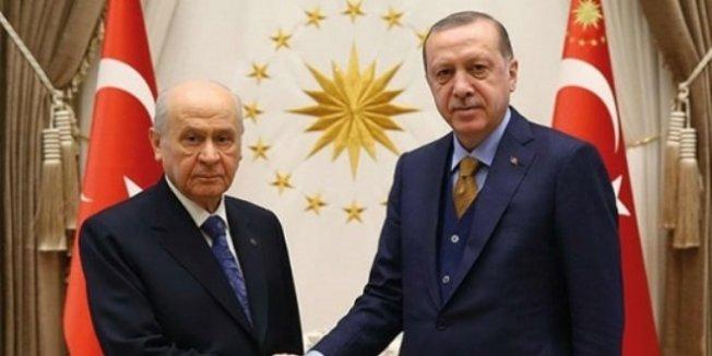 Kesin listeler öncesi Erdoğan ile Bahçeli bir araya gelecek