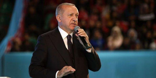 Erdoğan: Ezanına saygısızlık yapılanlar 31 Mart'ı bekliyor