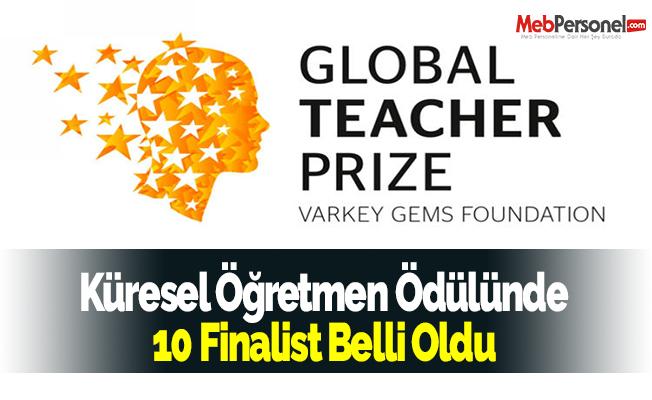 Küresel Öğretmen Ödülünde 10 Finalist Belli Oldu