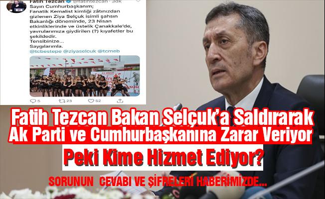 CHP ve HDP, Fatih TEZCAN Kadar Ak Parti'ye Zarar Veremiyor
