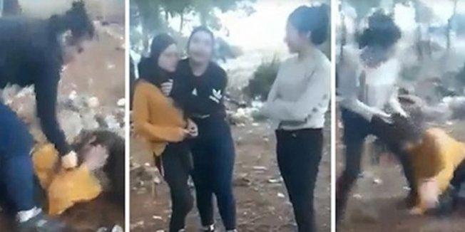 Liseli kıza ormanda dayağa bir tutuklama daha