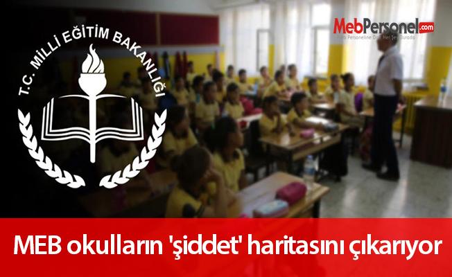 MEB okulların 'şiddet' haritasını çıkarıyor