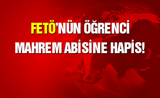 FETÖ'nün 'askeri öğrenci mahrem abisi'ne hapis cezası