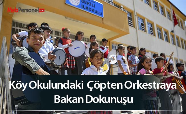 Köy Okulundaki  Çöpten Orkestraya Bakan Dokunuşu