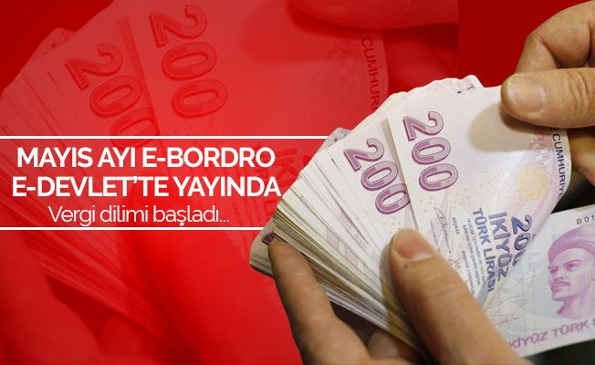 MAYIS/2019 E-BORDRO MAAŞ SORGULAMA
