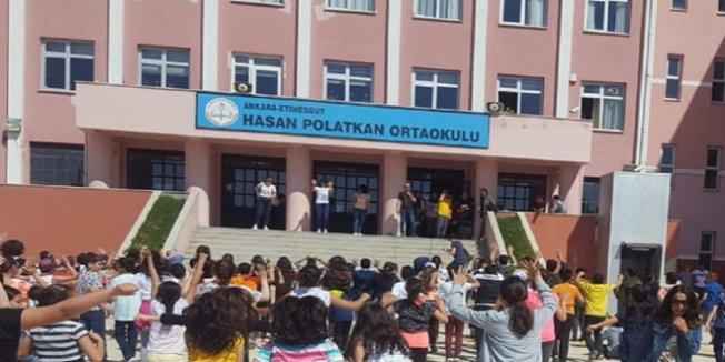 TSE'den Hasan Polatkan Ortaokulu'na kalite belgesi