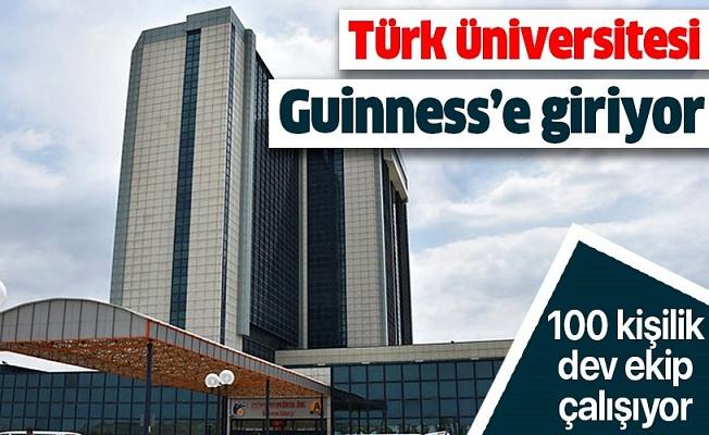 Türk Üniversitesi Guinness'e Giriyor