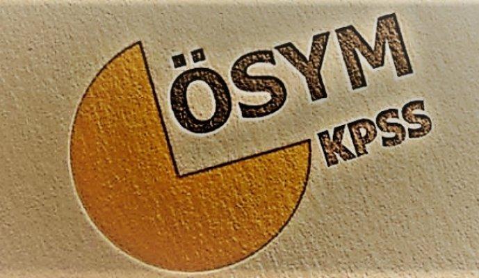 'Haftasonu KPSS sınavına 644 bin 557 aday katılacak'