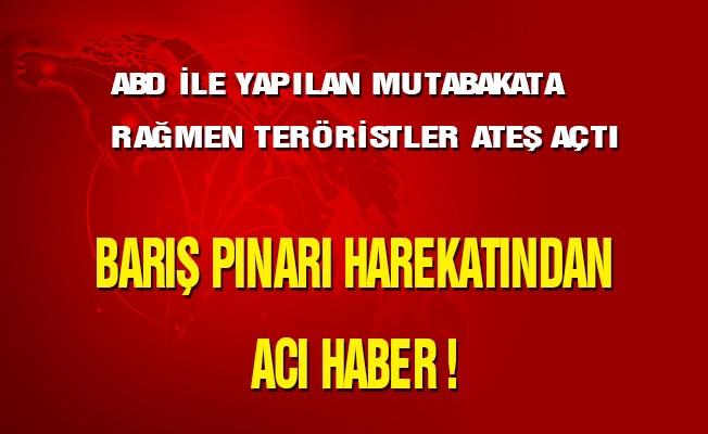 Barış Pınarı Harekatından Acı Haber !