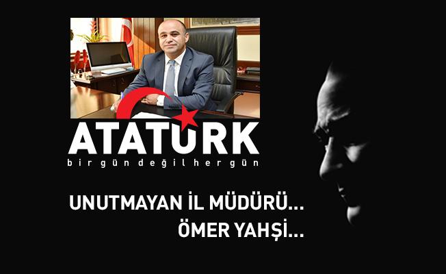 İzmir Milli Eğitim Müdürünü Tebrik Ediyoruz