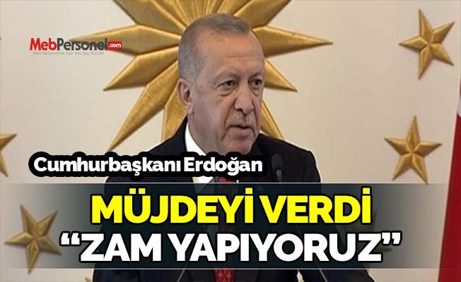 Erdoğan: Öğrenci burslarına yüzde 10 zam yapıyoruz