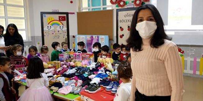 Kanser tedavisi gören öğretmenden lösemili çocuklar için kampanya