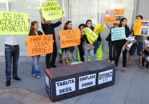 23 Kasım Atanamayan Öğretmenler Günü Kanun Teklifi