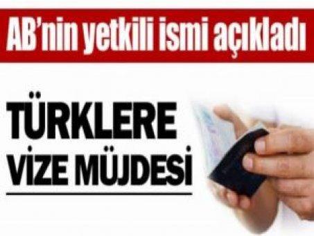 AB'de Türklere vize müjdesi