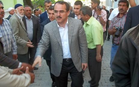 Adalet Bakanı Ergin'den Kur'a kursu öğrencisinin ailesine taziye ziyareti