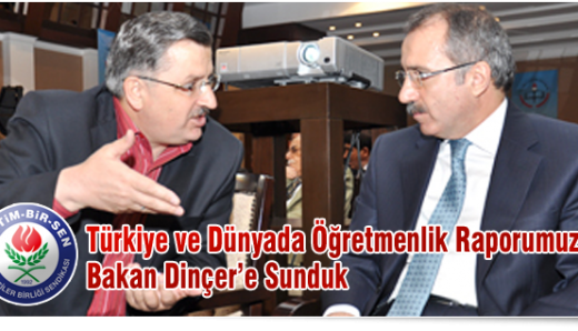 Ahmet Gündoğdu Şubat'ta 30bin , Ağustos'ta 70 Bin öğretmen Ataması Yapılması gerektiğini Ömer Dinçer'e iletti.