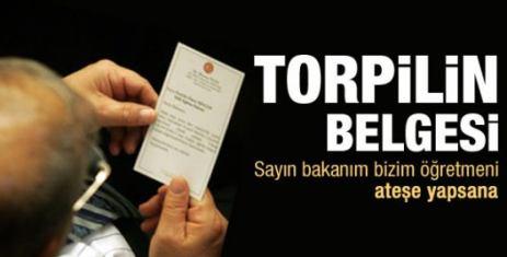AK Partili vekil Ömer Dinçer'den torpil istedi
