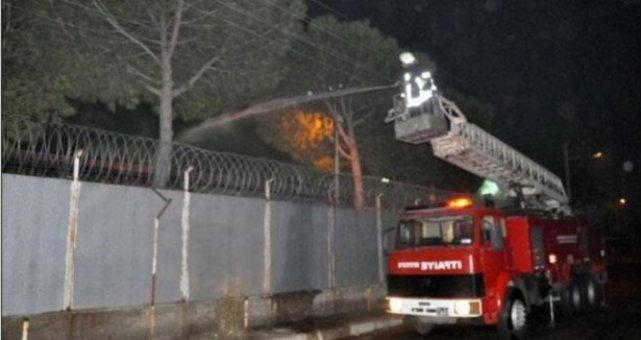 Akhisar Cezaevi'nde yangın: 12 yaralı