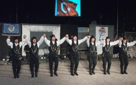 Altındağ Belediyesi Halk Oyunları Topluluğu, Atina'da Türkiye'yi temsil etti
