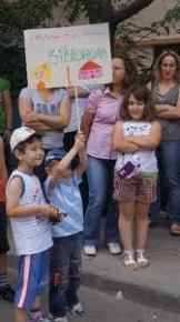 Ankara Valiliği önünde 4+4+4 protestosu...