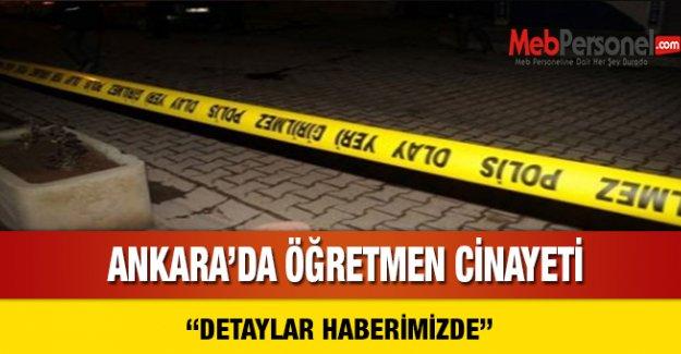 Ankara'da Öğretmen Cinayeti
