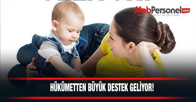 Annelere iş çocuğa bakıcı