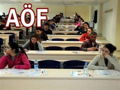 AÖF, İktisat ve İşletme fakülteleri sınav yönetmeliği değişti