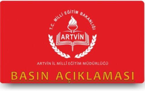 """Artvin Mem,""""Bir Skandal Puanlama da Artvin'den"""" haberi gerçeği yansıtmamaktadır."""