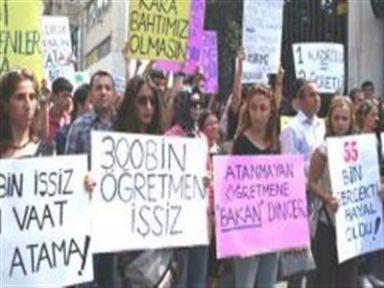 Ataması Yapılmayan Öğretmenler Mecliste Bsın Açıklaması Yaptı