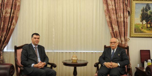 Bakan Avcı, Bosna Hersek Ve Sırbistan Büyükelçilerini Kabul Etti