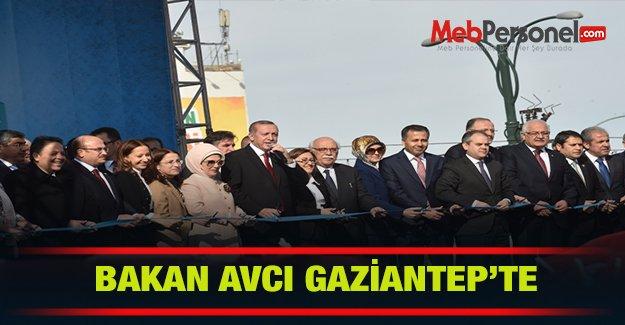 Bakan Avcı Gaziantep'te