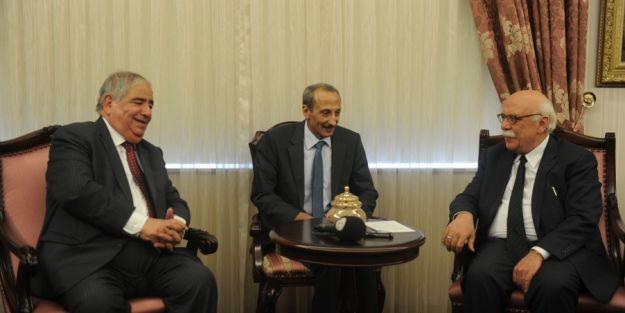 Bakan Avcı, Ürdünlü Mevkidaşı Bakan Mahmoud İle Görüştü