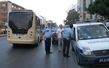 Barbaros Bulvarı'nda üzücü kaza