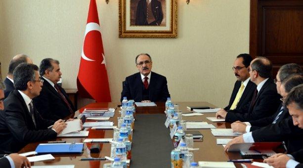 Başbakanlıkta Koordinasyon Toplantısı
