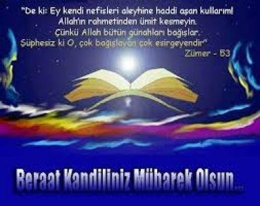 Berat Kandili gecesinde okunacak dua.Berat Kandili Gecesi Duası...