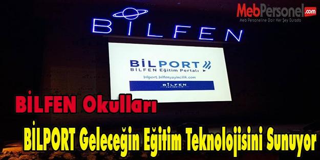 BİLPORT, geleceğin eğitim teknolojisini sunuyor.