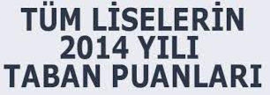 Bitlis Liseleri Taban Puanları TEOG YEP Yerleştirme Puanı 2014