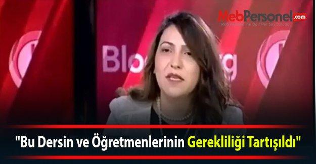 """""""Bu Dersin ve Öğretmenlerinin Gerekliliği Tartışıldı"""" (VİDEO)"""